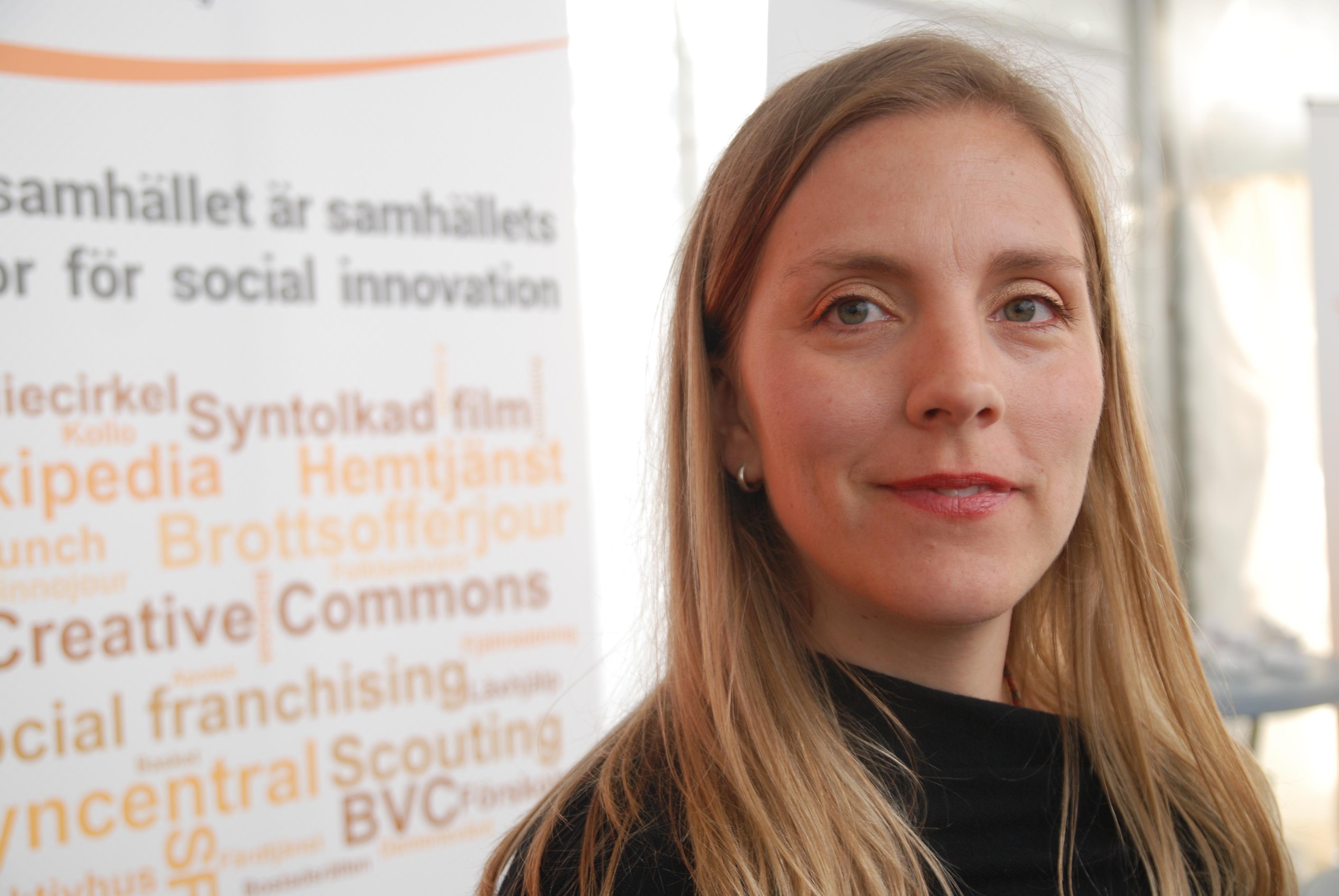 Morgonforums moderator Anna Ardin